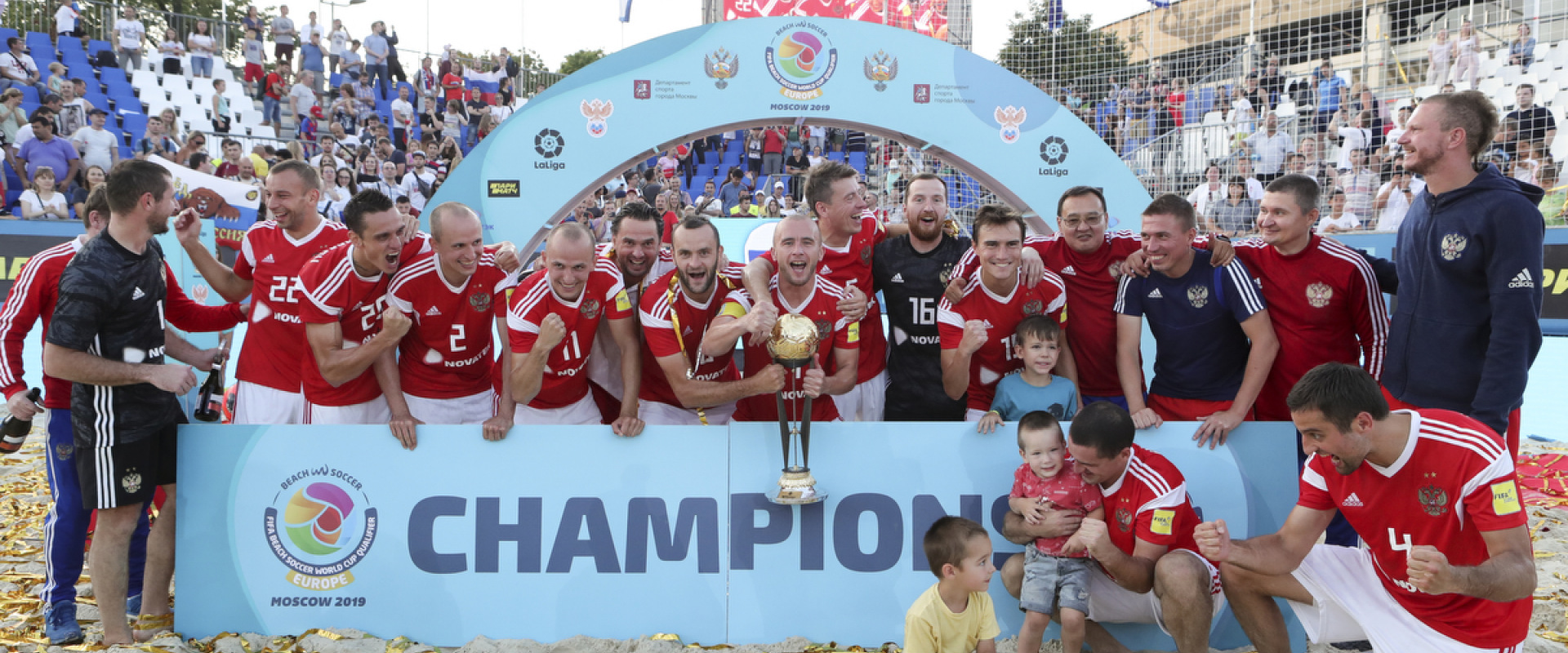 Russia win the FIFA Beach Soccer World Cup 2019 qualification