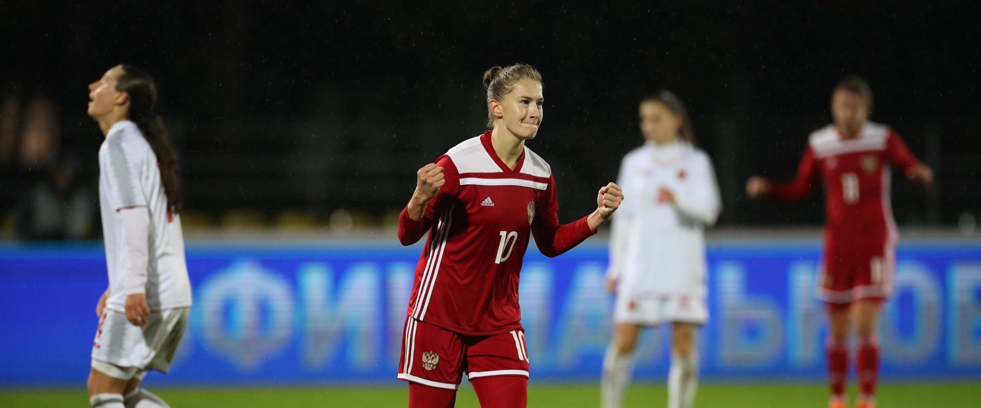 Крупная победа над Черногорией