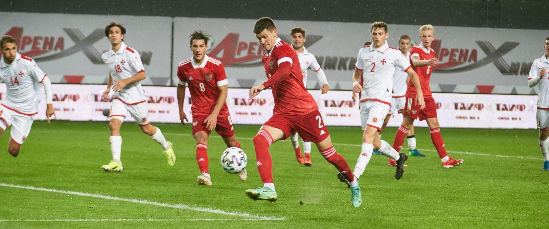Билеты на матч молодежных сборных России и Северной Ирландии