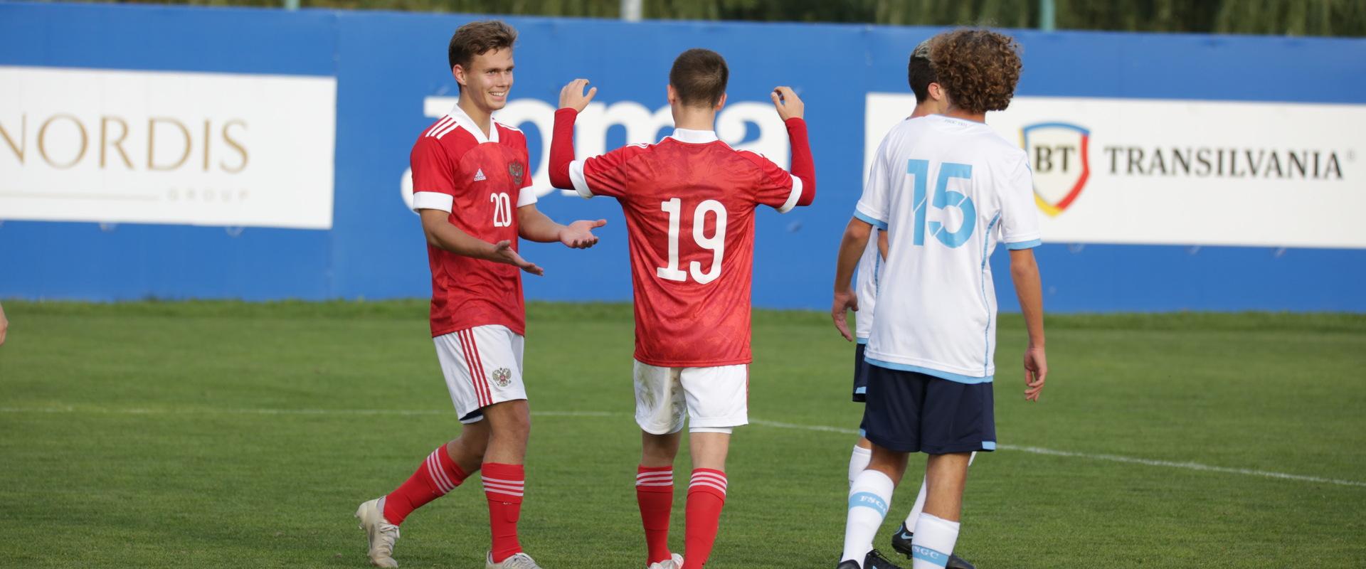 Сборная России - в элитном раунде чемпионата Европы U-17!